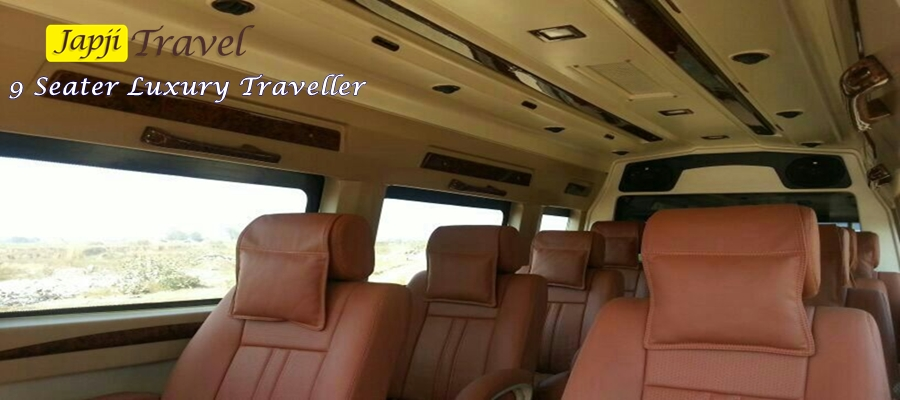 Book 12 Seater Deluxe Tempo Traveller Delhi