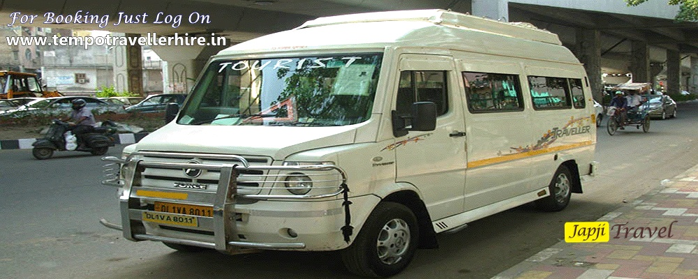 Standard 12 Seater Tempo Traveller Booking For Delhi Local Sightseeing and Outstation