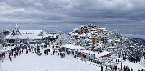 CAPITAL OF HILLY STATE HIMACHAL