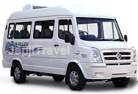 Hire Luxury Tempo Traveller from Japji Travel