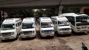 Tempo Traveler Hire for Delhi Sightseeing