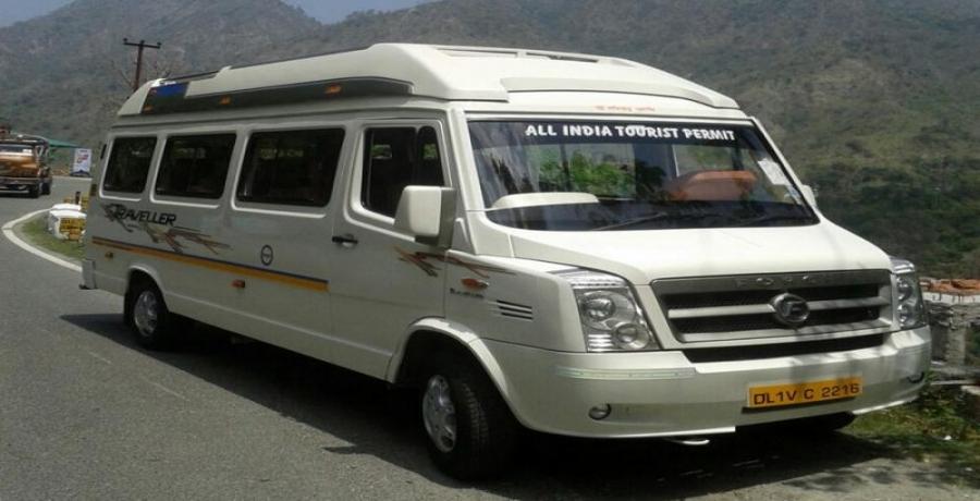 12 Seater Maharaja 1x1 Tempo Traveller