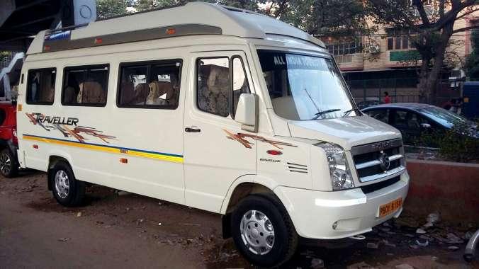 Manali To Delhi Tempo Traveller Hire Price