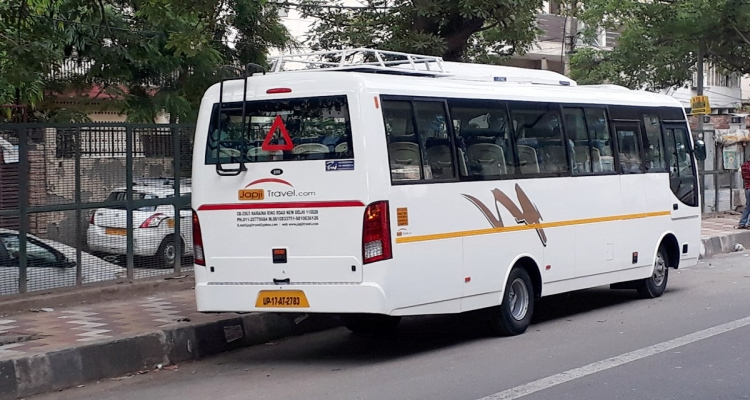 India Golden Triangle By Minibus