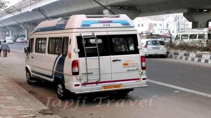 Chandigarh Tempo Traveller Hire