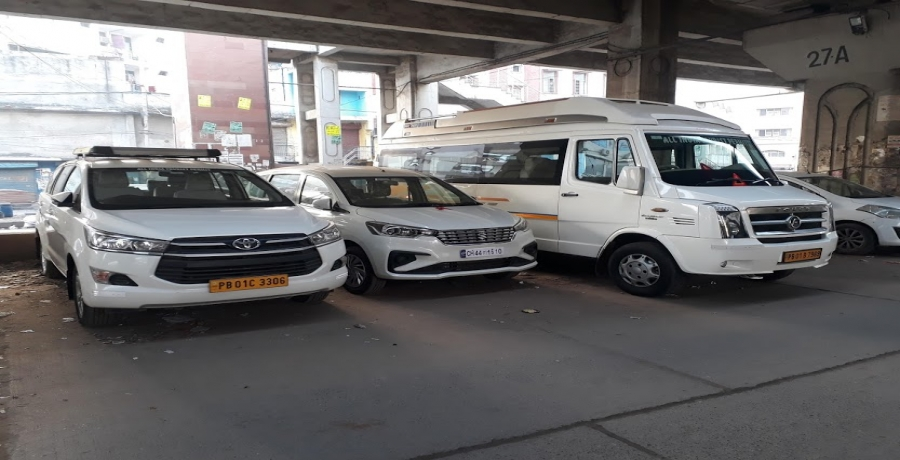 Delhi Airport To Punjab Cab Hire Service